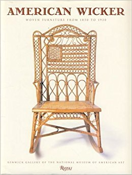 American Wicker: Woven Furniture from 1850 to 1930 Book Cover