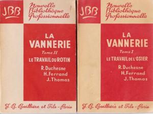 la vannerie tome 1 tome 2 1963