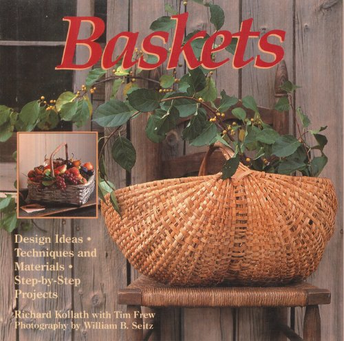 Baskets: Design Ideas, Techniques and Materials, Step-by-Step Projects Book Cover