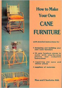 How to make your own cane furniture Book Cover