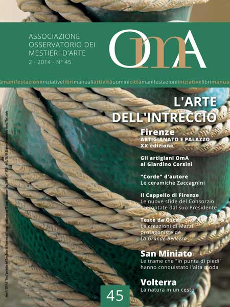 OMA n. 45 L'arte dell'intreccio Book Cover