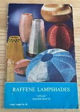 Atlas handicrafts Raffene lampshades